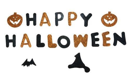 P 'tit Clown re88900-Happy Halloween in Gelatine 15x 50cm (Halloween Happy Clowns)