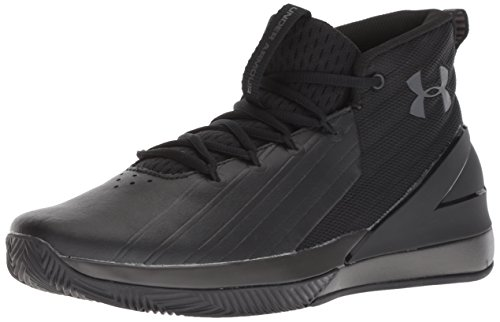 Under Armour Lockdown 3 3020622-001, Zapatos de Baloncesto para Hombre, Negro (Black 3020622/001), 47 1/2 EU
