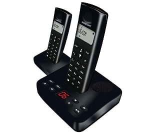 Logicom RIVA 402 DUO Téléphones Sans fil Répondeur Ecran