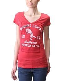Wrangler Katie T-Shirt Col V - Femme