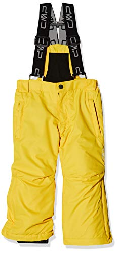 CMP Feel Warm Flat Pantalones, Unisex niños, Amarillo (Sun), 140 (10 años)