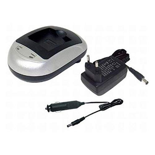 MicroBattery mbfac1025Mobile Device Charger-Mobile Device Chargers (Auto, Indoor, Digital Camcorder, AC, Cigar Lighter, DC, JVC GZ-E10, gz-E100, E105, E15, GZ-E200, GZ-E205, GZ-E208, GZ-E220)
