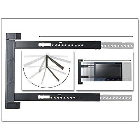 Montaje en pared 42 47 50 51 52 55 58 60 62 64 Pulgadas LED LCD Plasma 3D HD UHD TV Soporte De TV Soporte de pared apto para Samsung Sony LG Panasonic Toshiba Hisense Medion Sharp