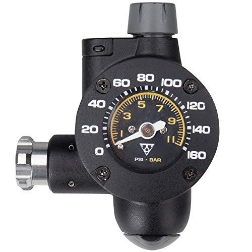 TOPEAK Airbooster_TG 16g CO2 Inflator Luftpumpe Fahrrad Reifen Presta Schrader Ventil 11 Bar, 15700176 -