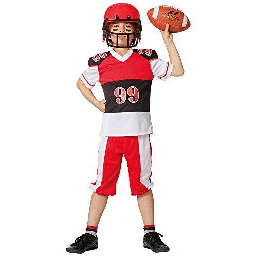 Wilbers NEU Kinder-Kostüm American Football, Gr. 152