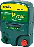 Patura Weidezaungerät P2500-12 Volt/230 Volt - 5-stufige Zaun- und Batteriekontrolle - nutzbar für viele Tiere, mittlere Zäune