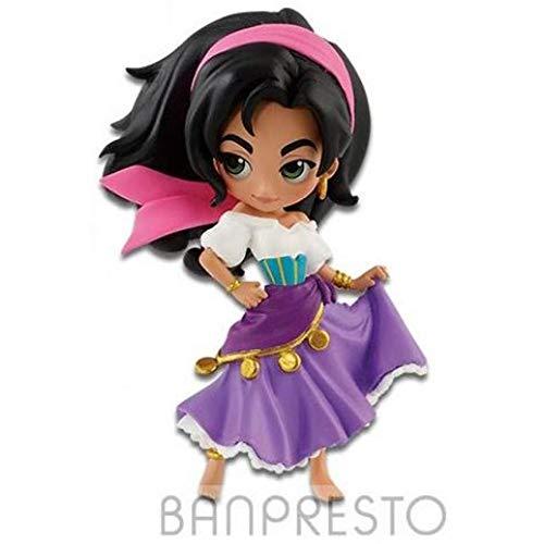 Flag Official Figure Mini Q POSKET Il GOBBO Notre Dame Esmeralda Disney 7 cm QPOSKET Petit