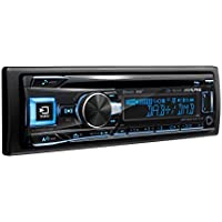 Alpine CDE-196DAB Sintonizador Dab/CD/USB/Controlador de iPod/iPhone con Bluetooth, Negro