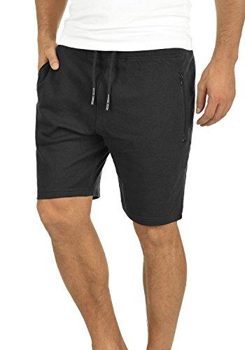 !Solid Taras Herren Sweatshorts Kurze Hose Jogginghose mit Verschließbaren Eingriffstaschen und Kordel Regular Fit, Größe:XL, Farbe:Black (9000) - Kurz Herren Sporthose Größe