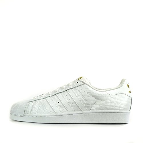 Baskets Superstar Originales Adidas Pour Hommes S31641 Baskets Blanches