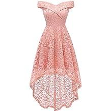 molto carino 1eca5 f9b3c Amazon.it: vestiti da cerimonia donna corti