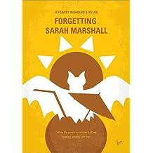 Alu Dibond 70 x 100 cm: No394 My Forgetting Sarah Marshall minimal movie poster di chungkong