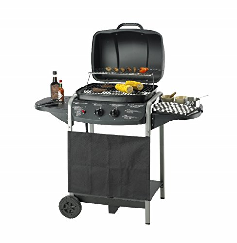 Kooki 54963 Gas Grill Barbecue 2 Brenner