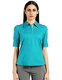 Ombré Lane Women's Plain Regular fit Top