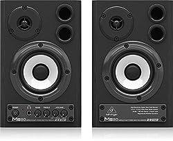 Behringer MS20 Digital Monitor 2-Wege Lautsprecher (20 Watt) schwarz (paar)