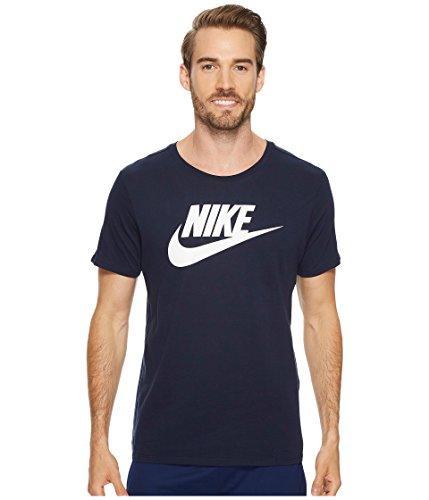 Nike Herren Men's Sportswear Futura Icon T-Shirt Hemd, weiß (Obsidian/White), XS -