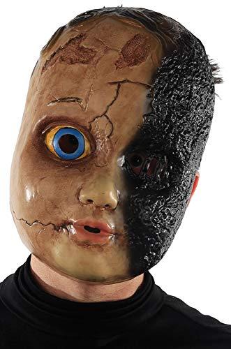 Eine Kostüm Puppe Gruselige - Fancy Me Kostüm für Herren und Damen, Totgebrannt, gruselige Puppe, Halloween-Kostüm, Kostüm