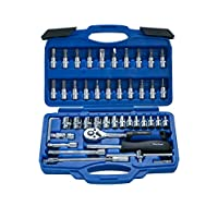 Blue Spot 01530 46 Piece Chrome Vanadium Socket Set