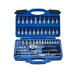 Blue Spot 01530 46 Piece Chrome Vanadium Socket Set