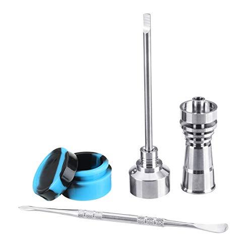 MYAMIA 14/18Mm Silikon-Jar-Werkzeug Titan Nail Carb Cap Dab Dabber Bohrer Weibliche Männchen