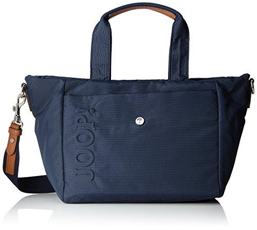 Joop! Damen Nylon Naviga Helena Handbag Mhz Henkeltasche, Blau (Dark Blue), 14.5x23x40 cm