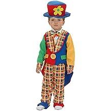 el carnaval Disfraz Payaso niño Talla de 2 a 4 años