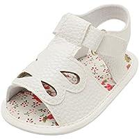 ca19d5013036b OHQ BéBé Bow Stripe Fleurs Sandales Bambin Chaussures Rose Bleu Or Blanc  GarçOn Enfants de Bande