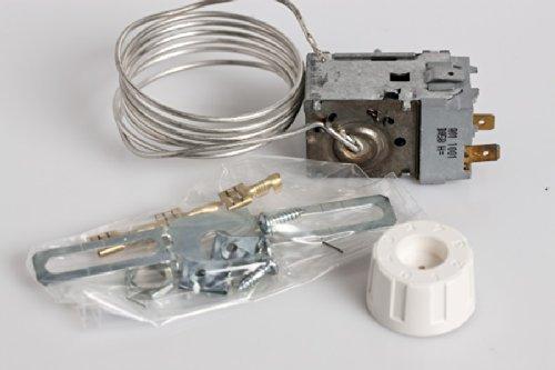 daniplus© Thermostat-Kit, Set passend wie Atea W1, A011001, Whirlpool Bauknecht 481981728914, Danfoss 077B7001, Ranco K50H1104 -