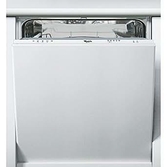 Whirlpool W 77/2 Entièrement intégré 12places A lave-vaisselle - lave-vaisselles (Entièrement intégré, Acier inoxydable, 1,6 m, 1,5 m, 2,16 m, 12 places)