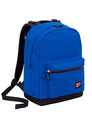Zaino seven - the double pro - blu - 27 lt schienale compatibile con cover e reversibile