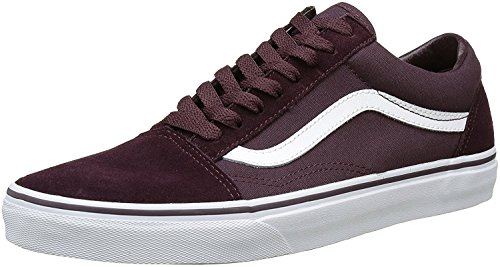 Vans Herren Old Skool Plateau (Suede/Canvas) Iron Brown/True White