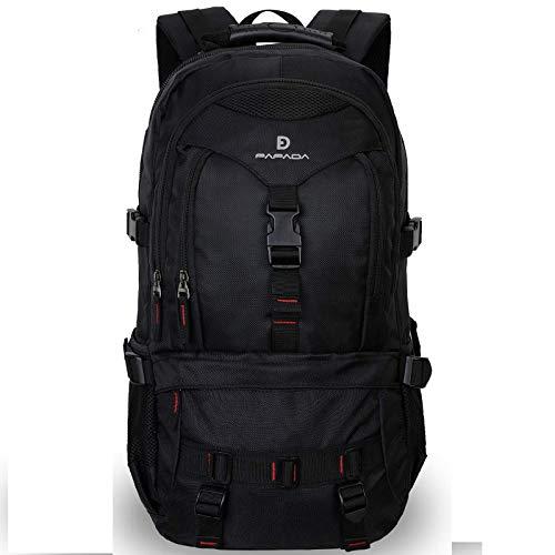 Fafada zaino per laptop uomo donna 35l zaino nero pc15.6 pollici viaggio impermeabile scuola militare laptop zaini trekking escursionismo campeggio montagna