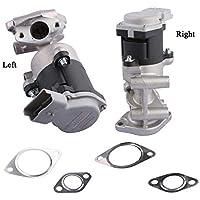 MOSTPLUS Válvula de recirculación de gas de escape izquierdo para LR006995, LR018466 LR006994, LR010125
