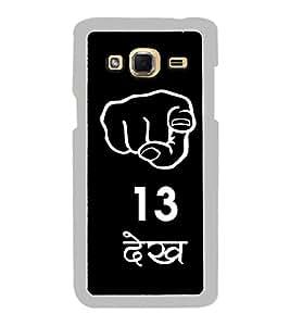 FUSON Tu Tera Dekh Designer Back Case Cover for Samsung Galaxy J3 (6) 2016 :: Samsung Galaxy J3 2016 Duos :: Samsung Galaxy J3 2016 J320F J320A J320P J3109 J320M J320Y