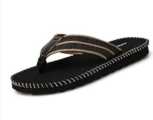 I pattini handmade fatti a mano della striscia di vibrazione di modo di estate comerciano i pattini degli uomini scivolosi dei sandali comodi della spiaggia 2