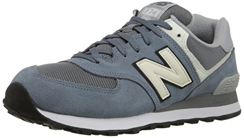 New Balance ML_WL574V1, Scarpe da Ginnastica Uomo, Blu (Light Blue/White), 42.5 EU
