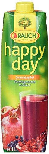 Rauch Happy Day Granatapfel, 6er Pack (6 x 1 l Packung)