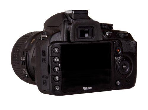 Nikon D3100 Fotocamera Reflex con Obiettivi 18-55 VR e 55-300 VR, Colore Nero