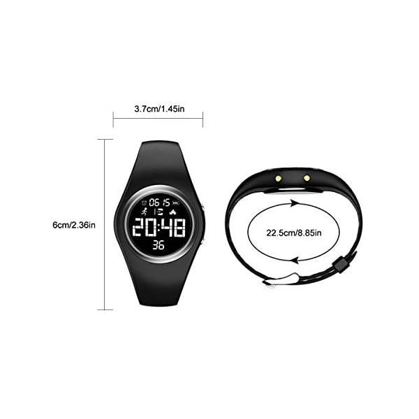 RCruning-EU Pulsera Actividad Impermeable IP68 Fitness Smartwatch Tracker Contador de Pasos, Contador de Calorías… 5