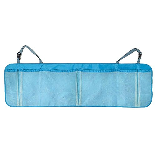 Mobile Trunk (Auto-Kindersitztoy Autotrunk-Organisator-SpeicherMobile iPhoneSitz-Paket (Farbe: blau))