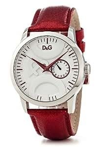D&G Dolce&Gabbana Unisex-Armbanduhr Twin Tip Analog Quarz DW0701