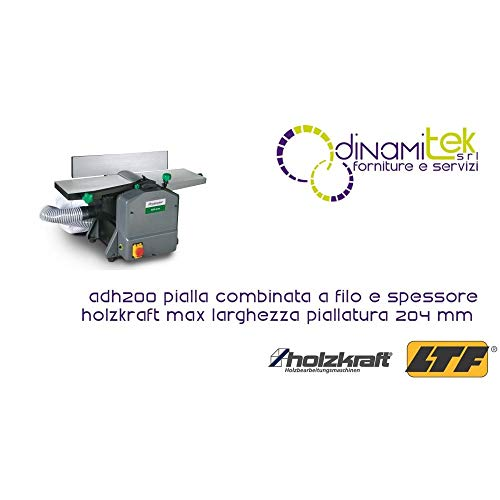 Holzkraft-Garlopa combinada hilo grosor adh200-Max