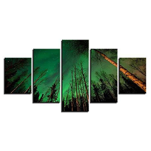 XMDNYE Canvas HD Prints Schilderijen Home Decor 5 Stuk d'occasion  Livré partout en Belgique