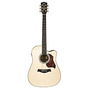 Guitares électro acoustiques WSL DREADNOUGHT ROSEWOOD CUTAWAY FISHMAN EQ EMOTION Folk électro