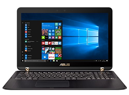 "ASUS UX560UX-FZ039T - Portátil de 15.6"" (Intel Core i7-6500U, RAM de 16 GB, 2000 GB HDD, SSD de 512 GB, NVIDIA GeForce GTX 950M de 2 GB, Windows 10) negro chocolate - Teclado QWERTY Español"