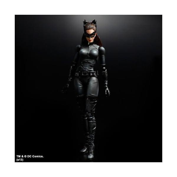 Batman Play Arts - Figura de acción de Catwoman del Caballero Oscuro 2