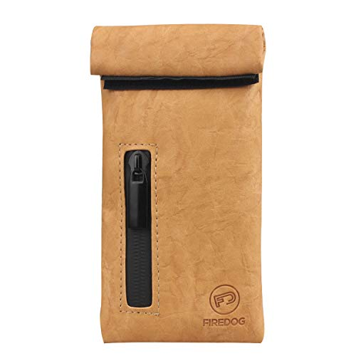 Firedog Geruchs-Beutel, mit Carbon-Futter, geruchsdichter Tasche für Hunde, 7,6 x 15,2 cm