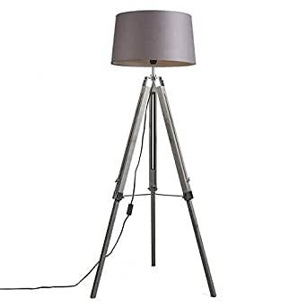 qazqa design industrie industrial retro stehleuchte. Black Bedroom Furniture Sets. Home Design Ideas