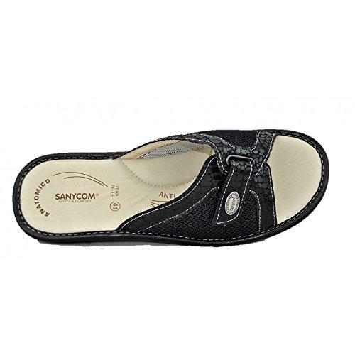 SANYCOM , Chaussures spécial piscine et plage pour femme Noir