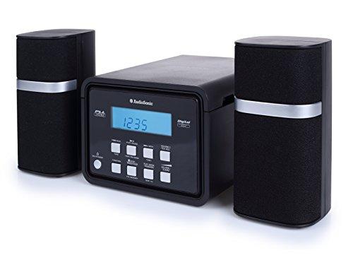 AudioSonic HF-1251 Micro Stereoanlage (CD, 2x 3 Watt) schwarz